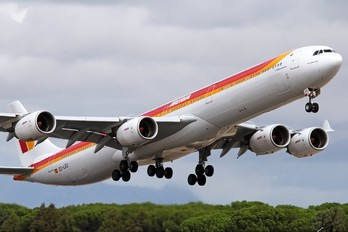 EC-LEU - Iberia Airbus A340-600
