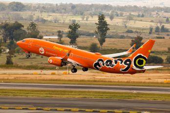 ZS-SJG - Mango Boeing 737-800
