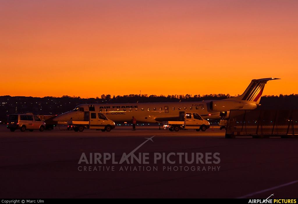 Air France - Regional F-GUFD aircraft at Stuttgart