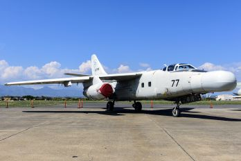 N877RS - Raytheon Flight Test Operations Douglas NTA-3B Skywarrior
