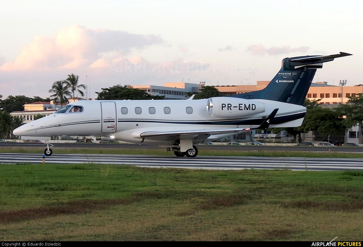 Embraer PR-EMD aircraft at Rio de Janeiro - Santos Dumont