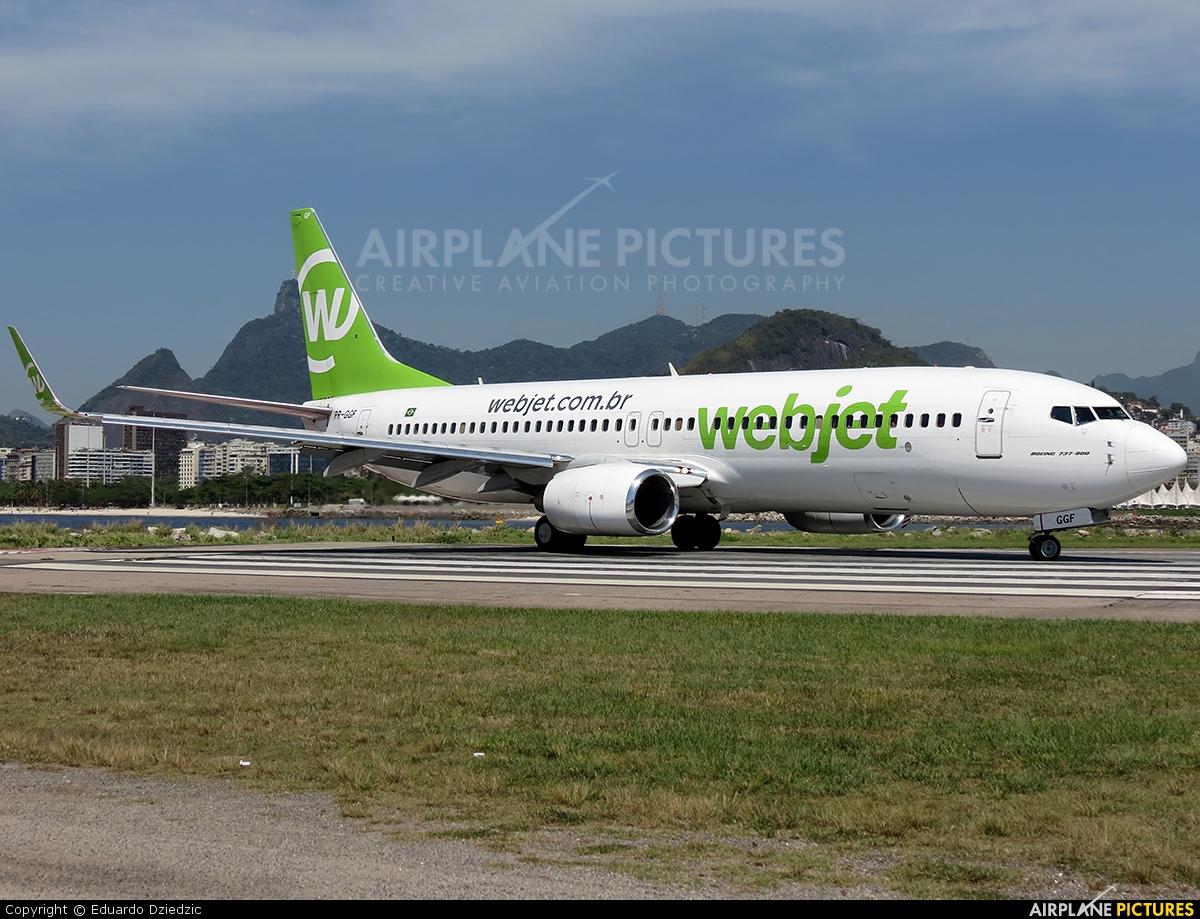 WebJet Linhas Aéreas PR-GGF aircraft at Rio de Janeiro - Santos Dumont
