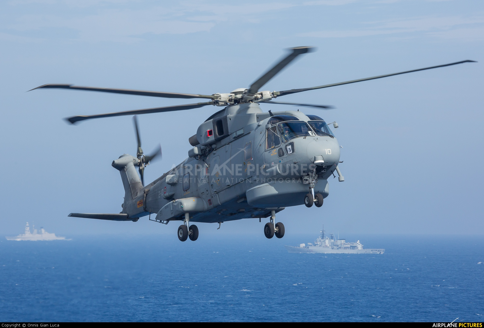 Italy - Navy MM81634 aircraft at Off Airport - Mediterranean Sea