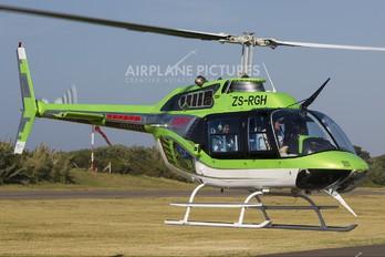 ZS-RGH - Private Bell 206B Jetranger III