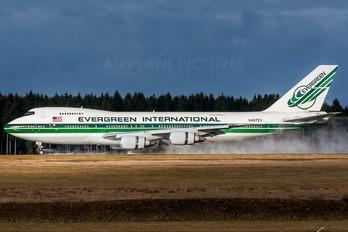 N487EV - Evergreen International Boeing 747-200F