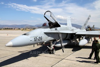 C.15-68 - Spain - Air Force McDonnell Douglas EF-18A Hornet