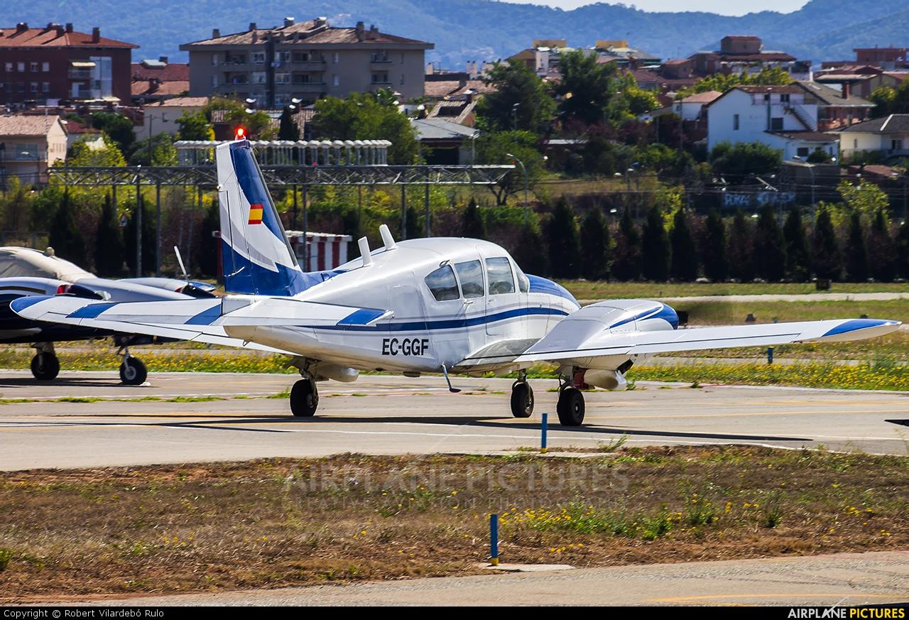 Aeroclub Barcelona-Sabadell EC-GGF aircraft at Sabadell