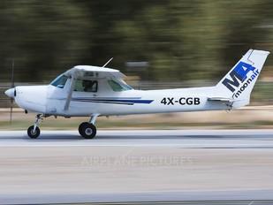 4X-CGB - Private Cessna 152