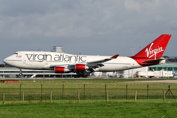 G-VXLG - Virgin Atlantic Boeing 747-400