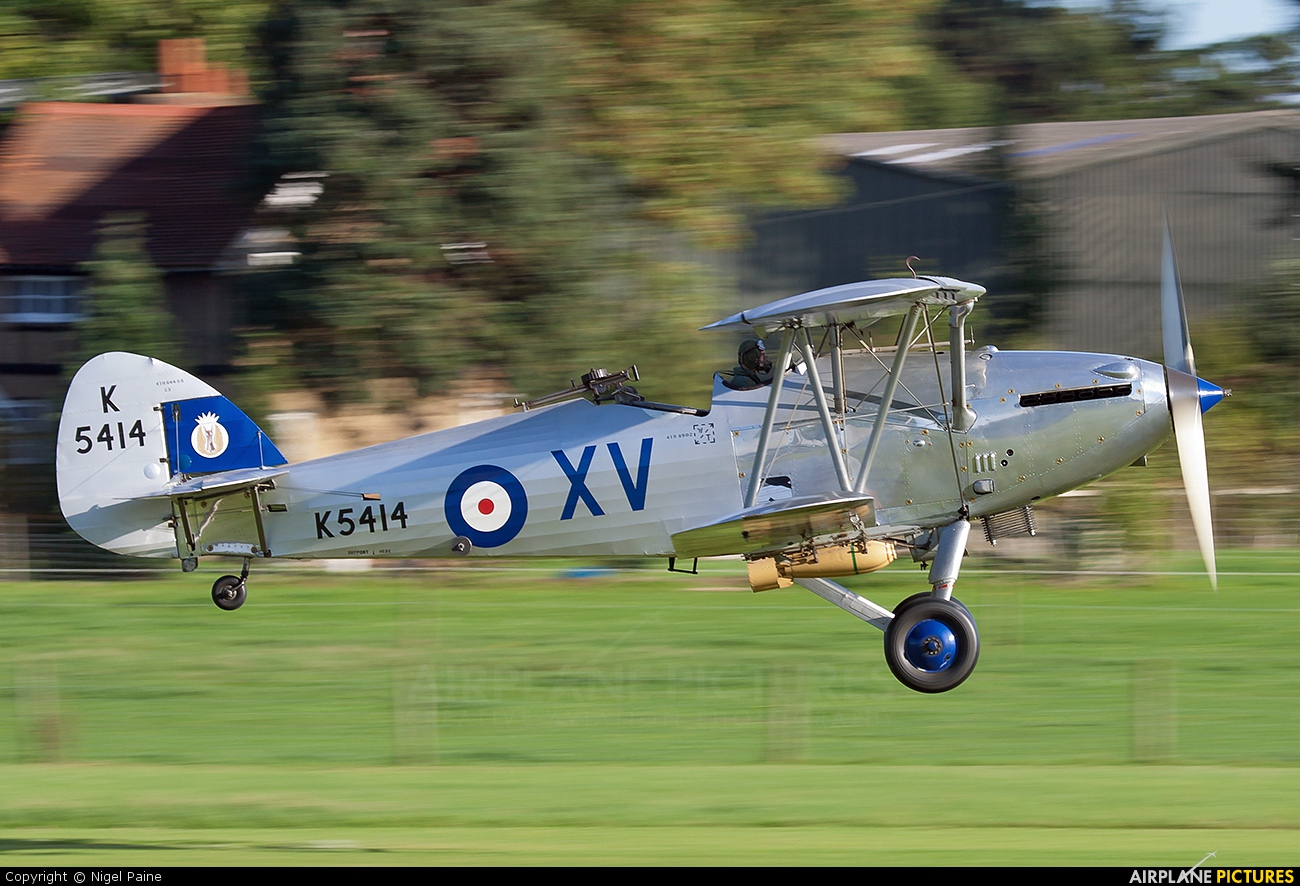 The Shuttleworth Collection G-AENP aircraft at Old Warden