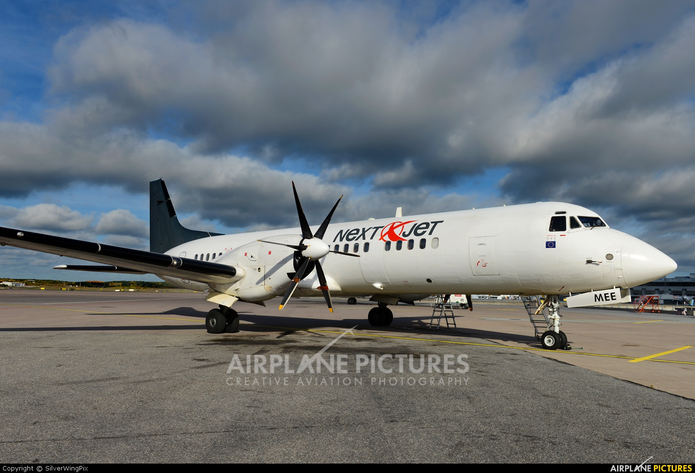 Nextjet SE-MEE aircraft at Stockholm - Arlanda