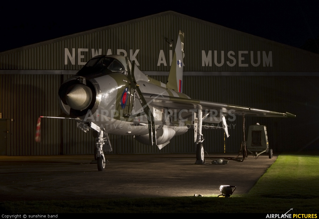 Royal Air Force XS417 aircraft at Newark Air Museum