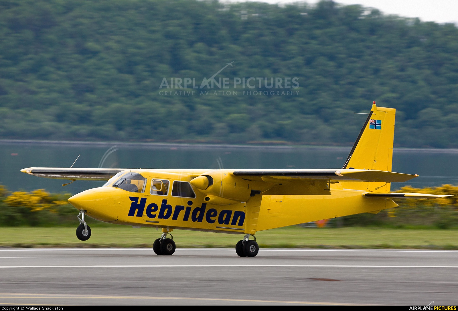 Hebridean Air Services G-HEBO aircraft at Oban