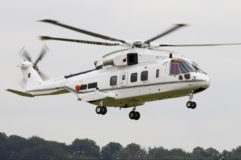 ZR350 - Algeria - Government Agusta Westland AW101 610 Merlin (Algeria)