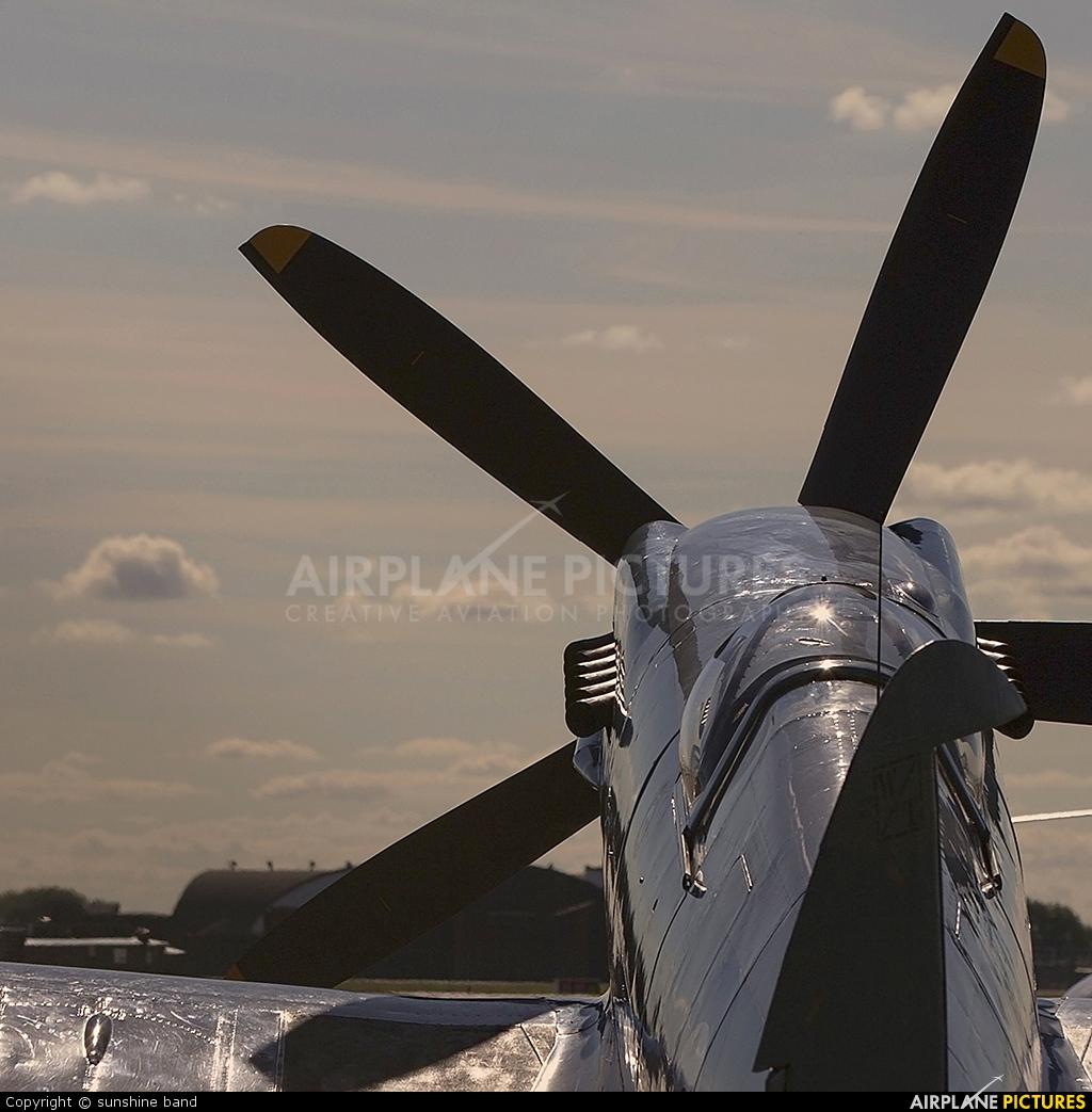 "Royal Air Force ""Battle of Britain Memorial Flight"" PS915 aircraft at Coningsby"