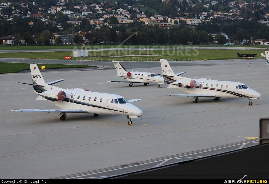 ABC Bedarfsflug OE-GBR aircraft at Innsbruck