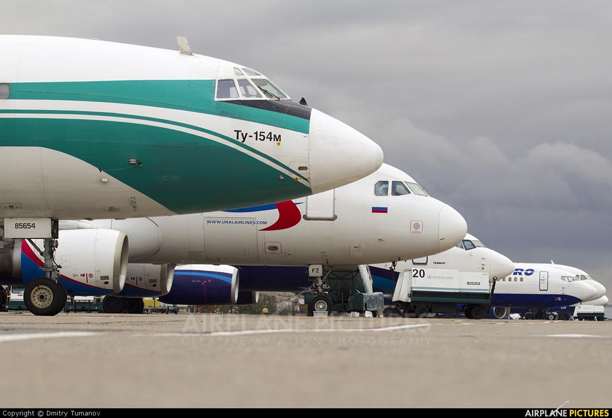 Alrosa RA-85654 aircraft at Moscow - Domodedovo