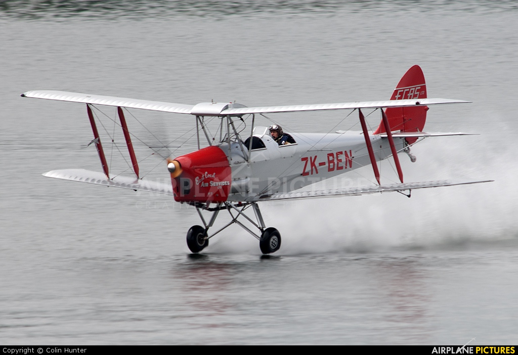 Private ZK-BEN aircraft at Off Airport - New Zealand