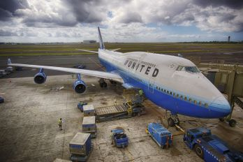 N122UA - United Airlines Boeing 747-400