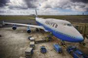 N122UA - United Airlines Boeing 747-400 aircraft