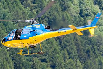 HB-XVM - Heli Rezia Eurocopter AS350 Ecureuil / Squirrel