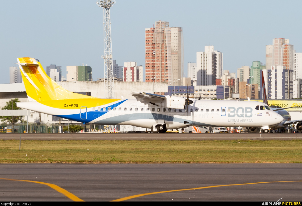BQB Lineas Aereas CX-POS aircraft at Recife