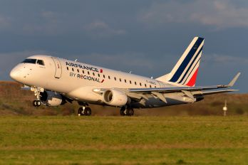 F-HBXG - Air France - Regional Embraer ERJ-170 (170-100)