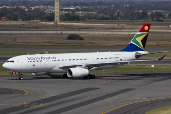 ZS-SXW - South African Airways Airbus A330-200