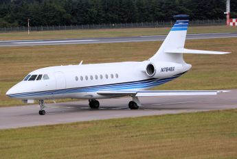 N784BX - Private Dassault Falcon 2000 DX, EX