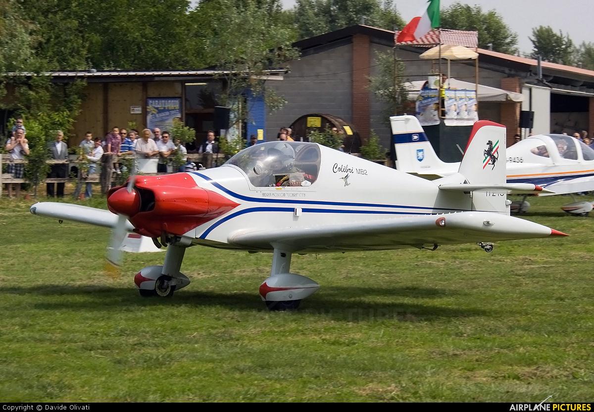 Private I-7289 aircraft at Bergamo - Caravaggio