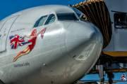 G-VSUN - Virgin Atlantic Airbus A340-300 aircraft