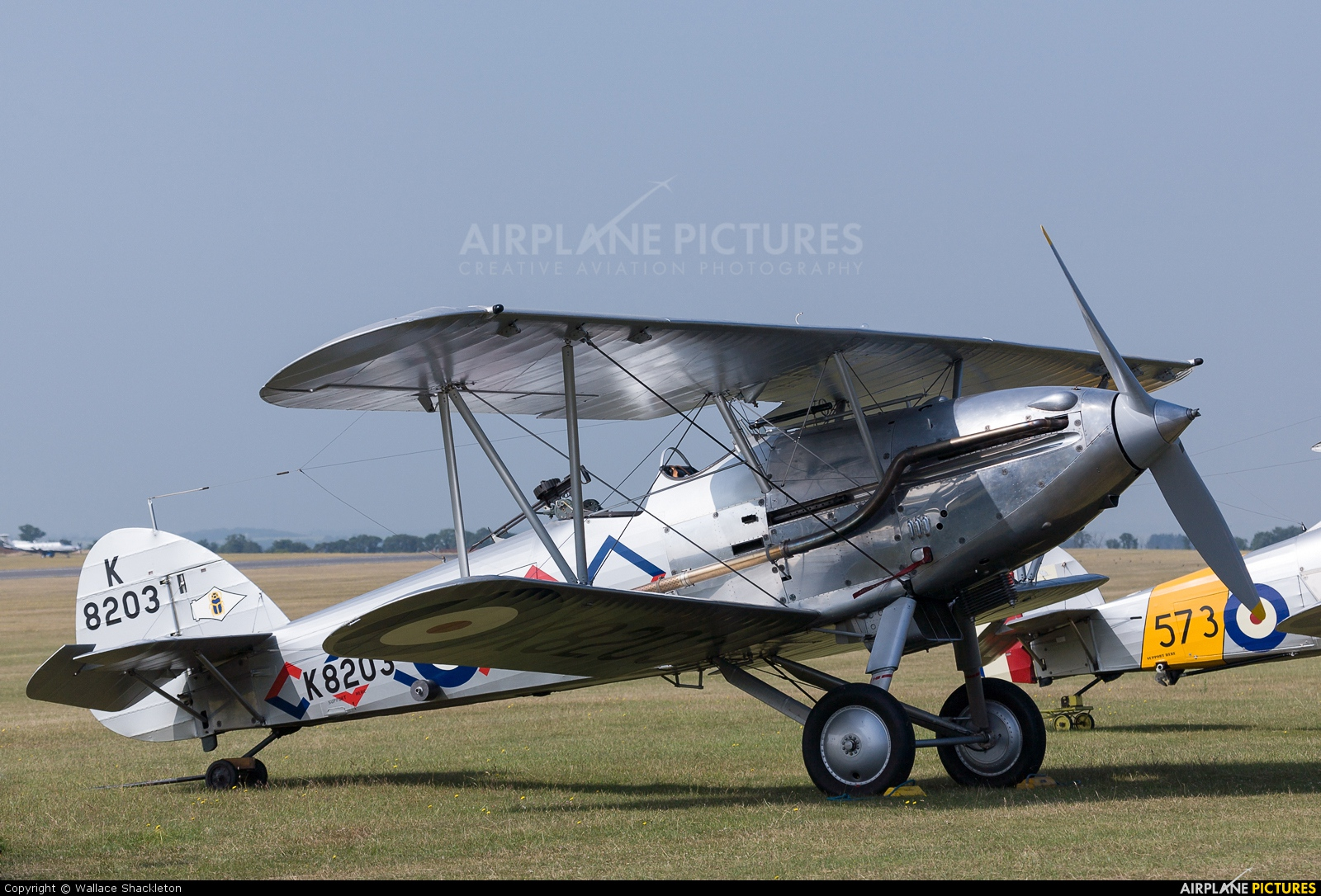Demon Displays G-BTVE aircraft at Duxford