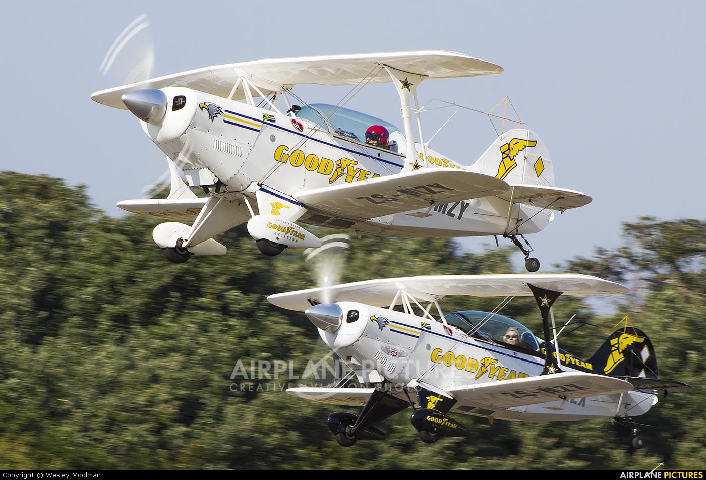 Goodyear ZS-MZY aircraft at Durban - Virginia