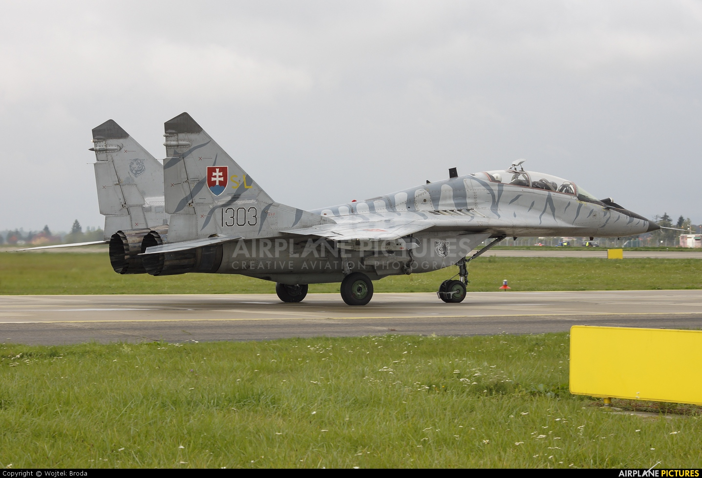Slovakia -  Air Force 1303 aircraft at Ostrava Mošnov