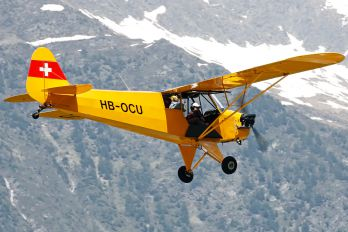 HB-OCU - Private Piper J3 Cub