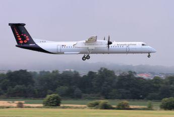 G-ECOI - Brussels Airlines de Havilland Canada DHC-8-400Q / Bombardier Q400