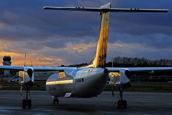 D-ADHA - Augsburg Airways - Lufthansa Regional de Havilland Canada DHC-8-400Q / Bombardier Q400