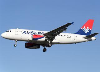 A6-SAA - Air Serbia Airbus A319