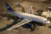 N813AW - US Airways Airbus A319 aircraft