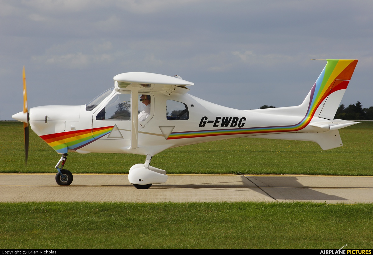 Private G-EWBC aircraft at Northampton / Sywell
