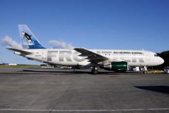 N205FR - Frontier Airlines Airbus A320
