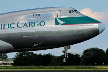 B-HUP - Cathay Pacific Cargo Boeing 747-400F, ERF