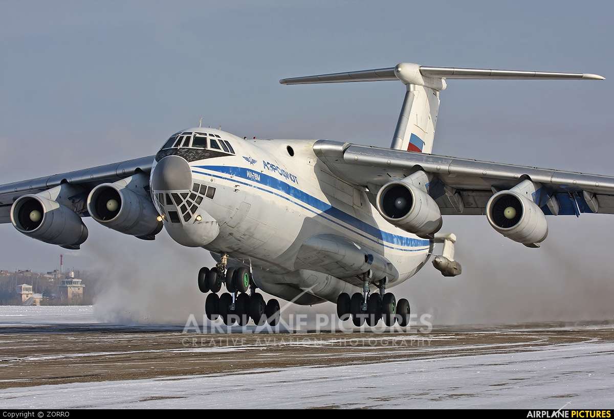 Russia - Air Force RA-78823 aircraft at Off Airport - Russia