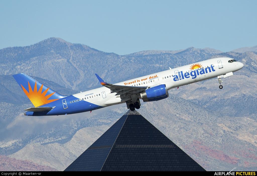 N904nv Allegiant Air Boeing 757 200 At Las Vegas