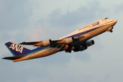 JA8960 - ANA - All Nippon Airways Boeing 747-400D aircraft