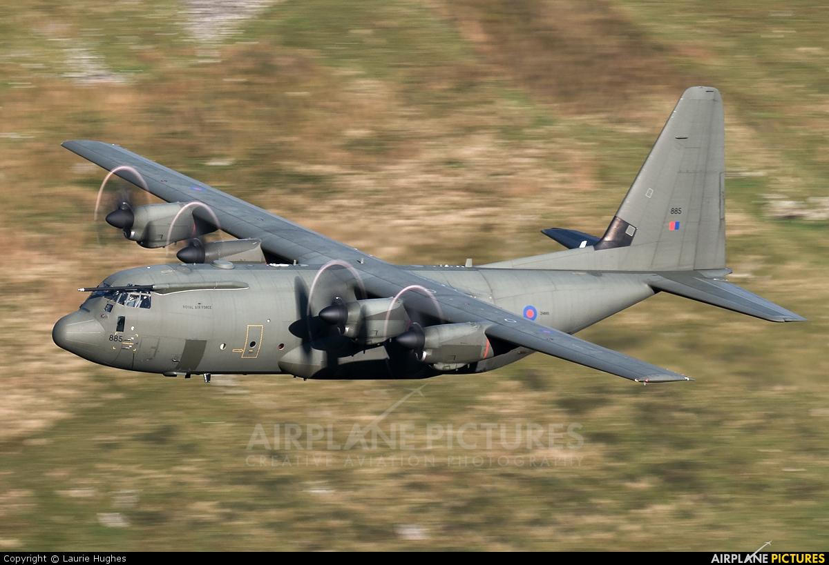 Royal Air Force ZH885 aircraft at Machynlleth LFA7