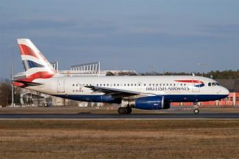 G-EUOG - British Airways Airbus A319