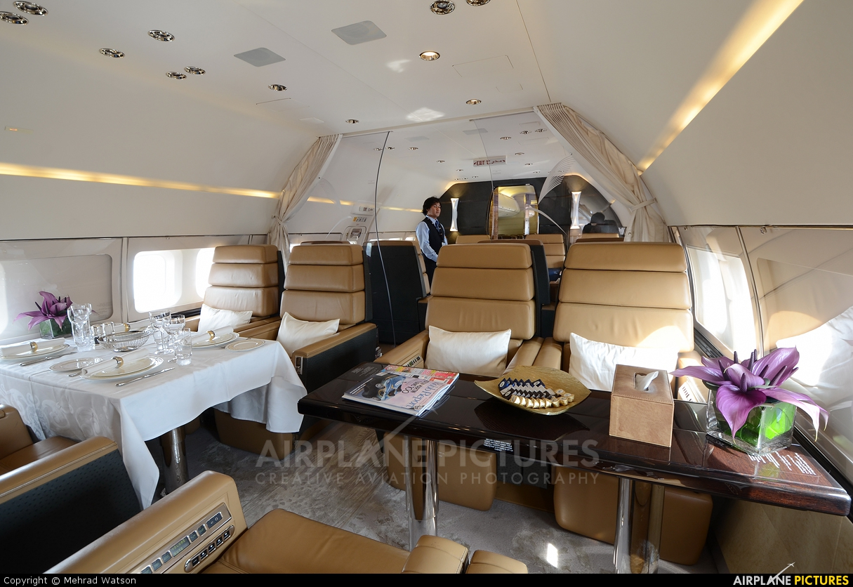 Royal Jet A6-AIN aircraft at Jebel Ali Al Maktoum Intl
