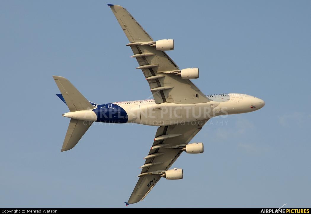 Airbus Industrie F-WWDD aircraft at Jebel Ali Al Maktoum Intl