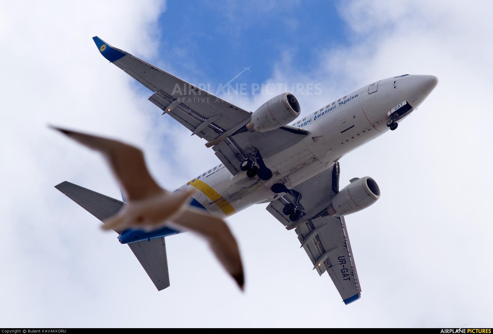 Ukraine International Airlines UR-GAT aircraft at Istanbul - Ataturk